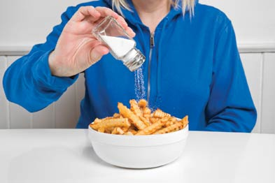 Salt intake: showed a J-shaped association with cardiovascular risk