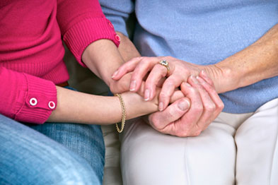 Carers provide a valuable service to society in general (photograph: SPL)