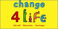 Photograph: Change4life logo