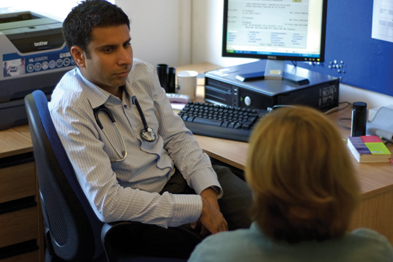 The GP must be sure the patient is competent to make the decision and that consent is fully informed (Photograph: JH Lancy)