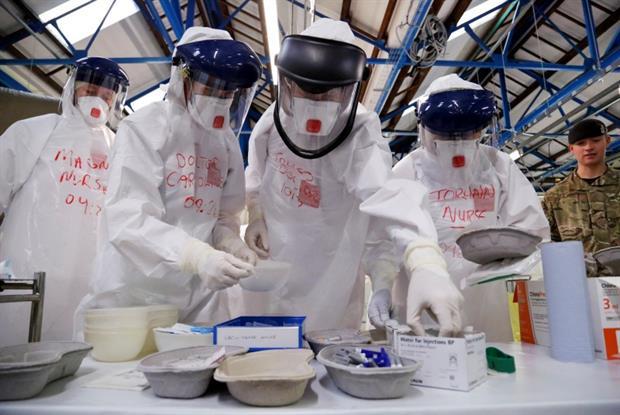 Ebola training: GPs helping fight epidemic (Photo: DFID)