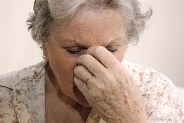 Dementia: low weight in middle aged linked to increased risk (Photo: JH Lancy)