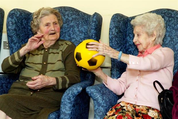 Exercise could ward off dementia (Photo: Ian Newton/UNP)
