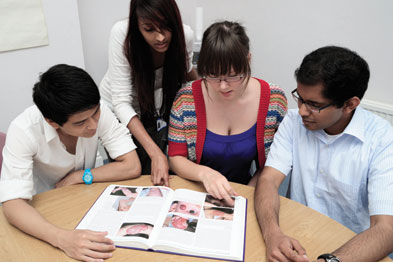 Ask medical students to read a paper or clinical case and then present a seminar-type discussion (Photograph: SPL)