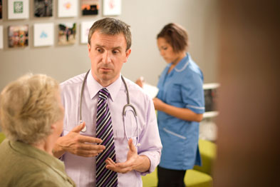 A chaperone could be a relative or friend of the patient, or a member of the practice staff