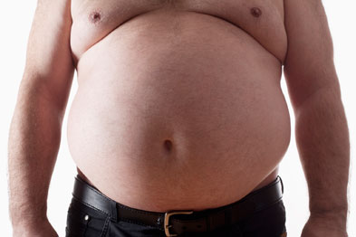 Official figures show 65% of men in England are now overweight or obese (Photo: iStock)