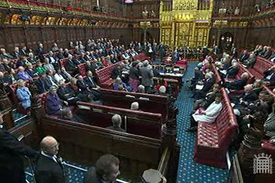 House of Lords (Photograph: www.parliament.uk)