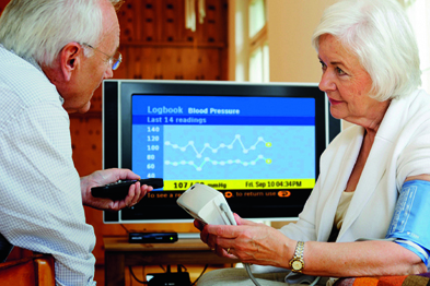 Telecare can cut the cost of long-term conditions care (Photograph: Philips Electronics UK Limited)