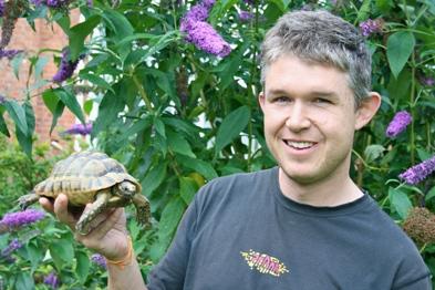 Dr Ben Waterfall: saved pet tortoise Atlas