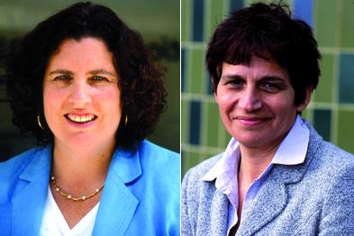Dr Maureen Baker (l) and dr Clare Gerada