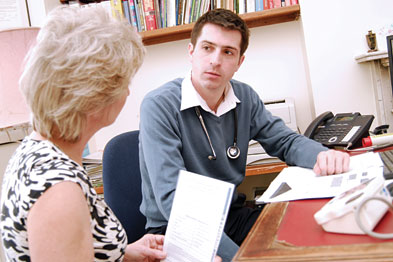 Benefits: claimants seek help from GPs (photo: Jason Heath Lancy)