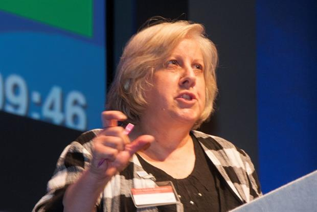 Dr Fay Wilson: debate on seven-day NHS services (Photo: Pete Hill)