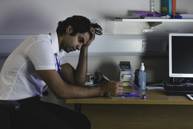 GPs seeking help for burnout (Photo: iStock.com/SolStock)