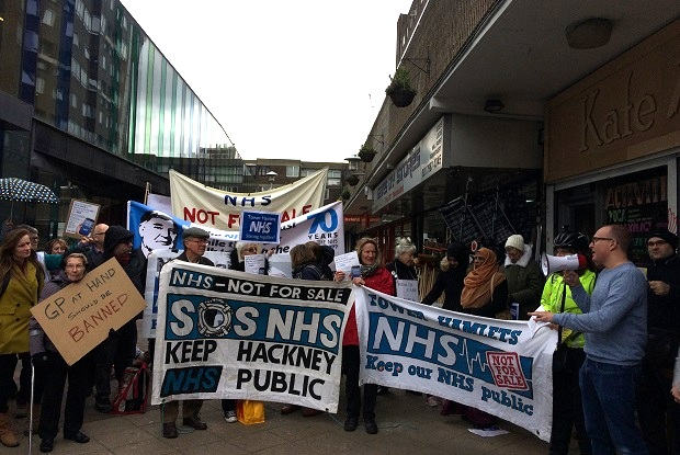 GP at Hand protest