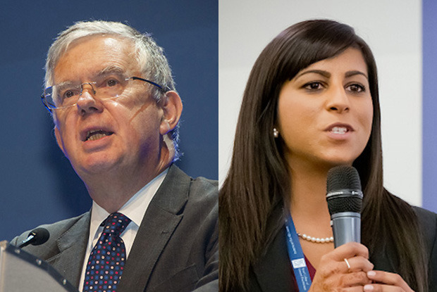 Professor Haslam (left) and Dr Nish Manek (Photos: Pete Hill and RCGP/Grainge Photography)