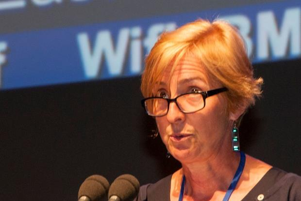 Dr Jackie Applebee: joined NHS protesters at Conservative party conference