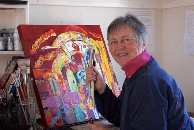 Dr Jane Mackay: former GP quit medicine to take up art full time