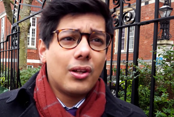 BMA junior doctor committee chair Dr Jeeves Wijesuriya