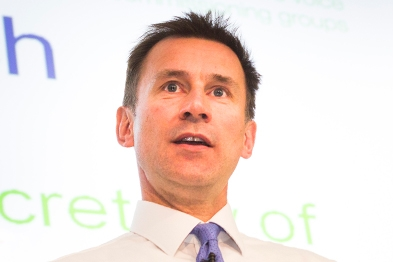 Health secretary Jeremy Hunt: opening the bonnet is difficult