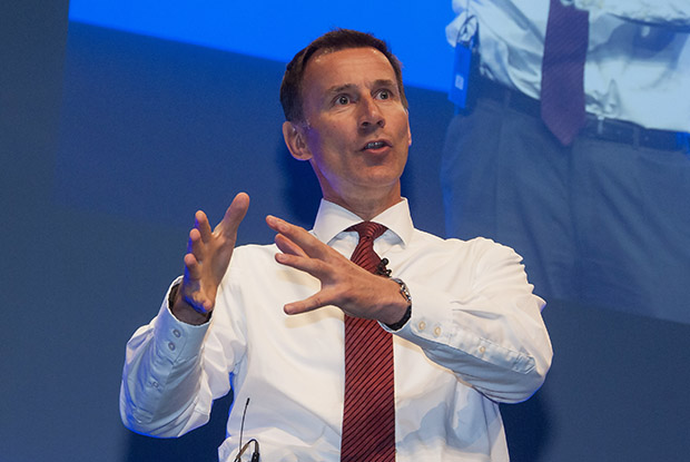 Health secretary Jeremy Hunt at the RCGP annual conference (Photo: JH Lancy)