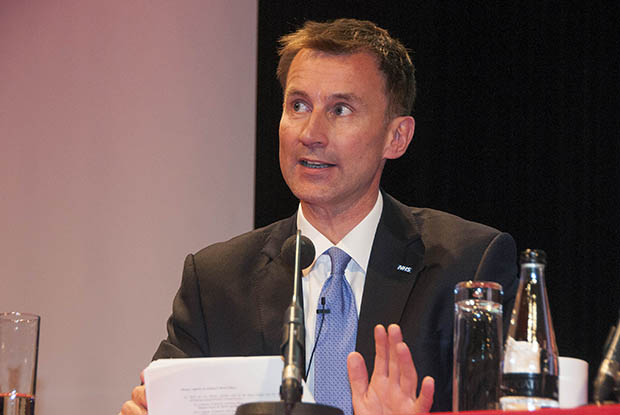 Health secretary Jeremy Hunt (Photo: Pete Hill)