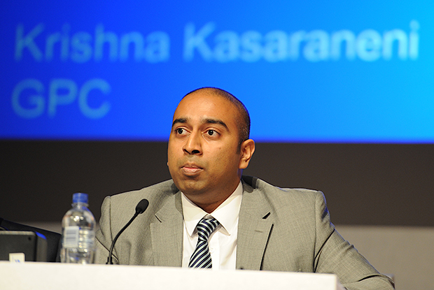 GPC education, training and workforce subcommittee chairman Dr Krishna Kasaraneni