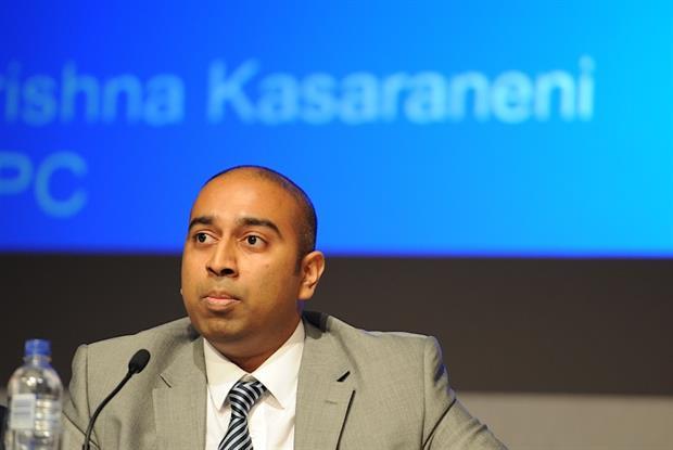 Dr Krishna Kasaraneni: warning over workforce (Photo: JH Lancy)