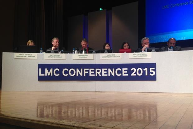 LMC conference 2015: GP crisis solution needed (Photo: David Millett)