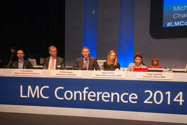 LMC conference: GPs warn over workload threat (Photo: Pete Hill)