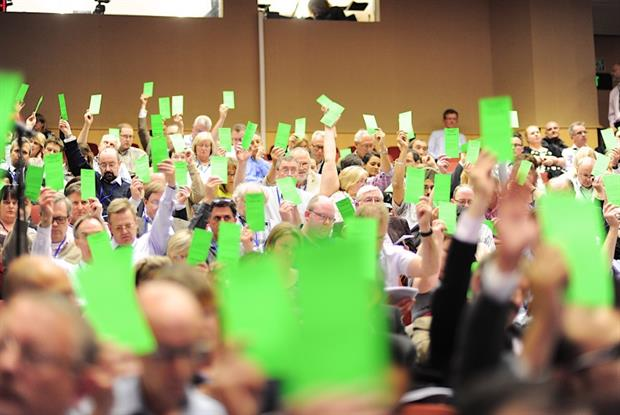 GPs vote at the UK LMCs conference