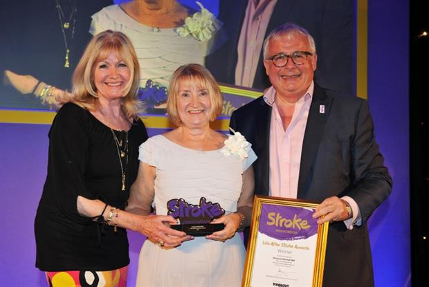 Margaret Mitchell: Life After Stroke award winner for professional excellence
