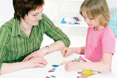 Parents can be taught the principles of social learning and reinforcement