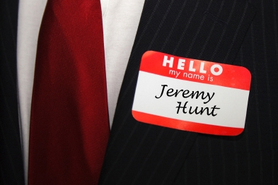 Health secretary Mr Hunt wants named GPs to be responsible for health and social care 24/7. Image: Emma Platt