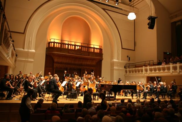 Doctors' Orchestra: performance at London's Cadogan Hall in March