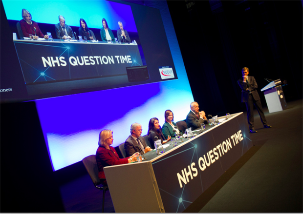 Professor Martin Marshall chairs NHS Question Time at RCGPAC 2017