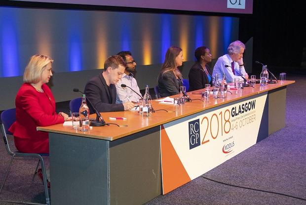 RCGP Question Time panel (Photo: Pete Hill)