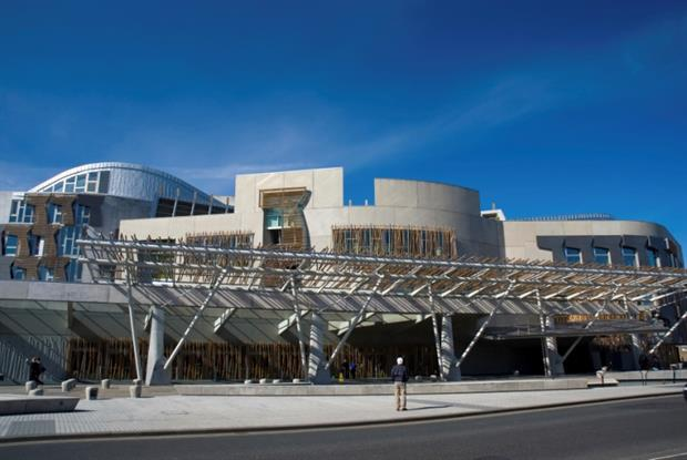 Scottish parliament building (Photo: iStock)