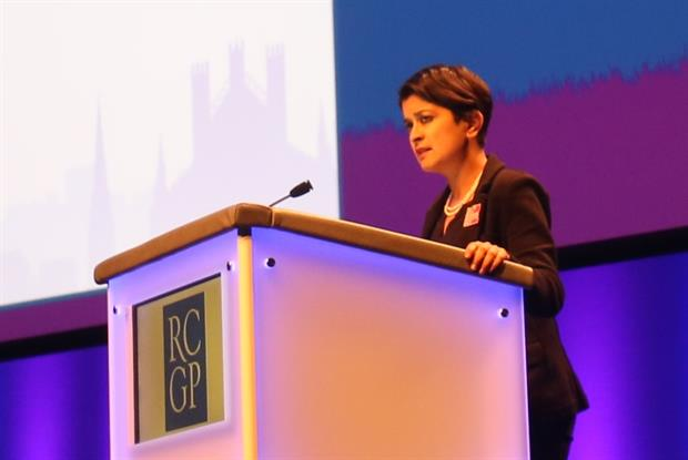 Liberty director Shami Chakrabarti: Q&A with GPs at RCGP conference (Photo: Gevi Dimitrak)