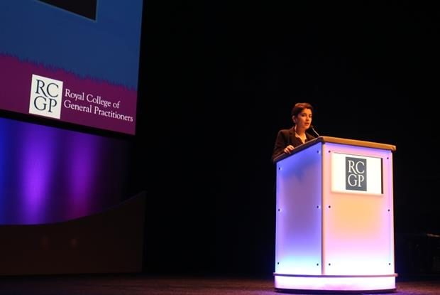 Shami Chakrabarti: standing ovation for RCGP conference speech (Photo: Gevi Dimitrak)