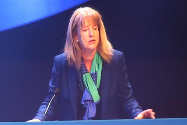 Scottish health minister Shona Robison