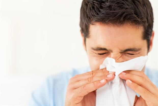 Sneeze: statins could boost resistance to respiratory infection (Photo: iStock)