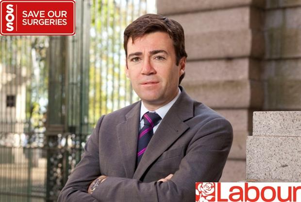 Andy Burnham: statement in support of general practice (Photo: Alex Deverill)
