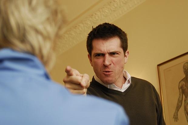 Violent patients: GPs at risk (Photo: JH Lancy)