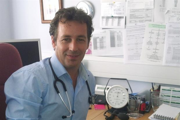 Dr Adrian Burt appears on adverts to raise skin cancer awareness (Photo: Dr Adrian Burt)