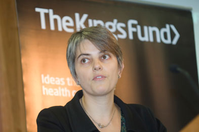 Anna Dixon: former King's Fund expert now at DH