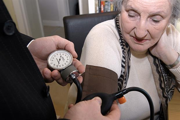 Blood pressure check: over-75s could be guaranteed same-day GP appointments (Photo: JH Lancy)