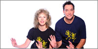 Lizzie Webb and Craig Revel Horwood