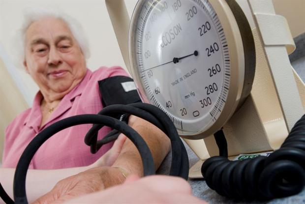 BP check: heart health key for diabetes patients (Photo: Jim Varney)