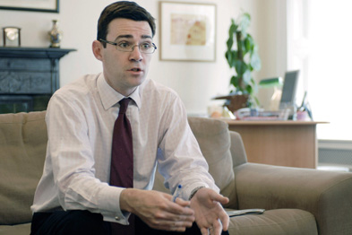 Andy Burnham: government must end postcode lottery of access to care