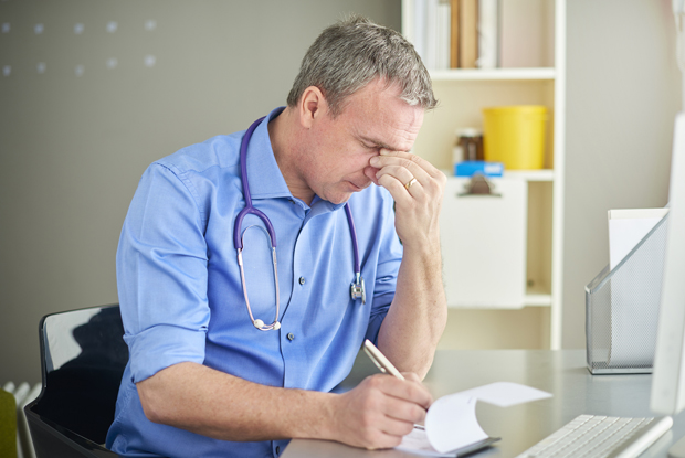 Most doctors 'meet criteria for burnout' (Photo: sturti/Getty Imagas)